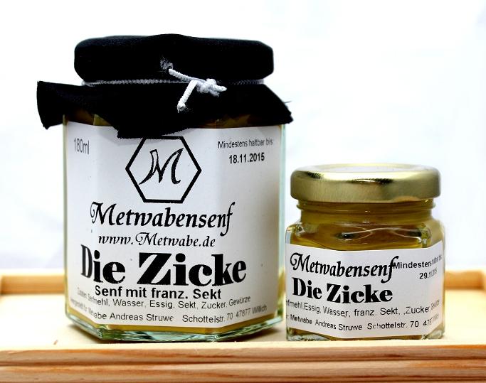 Metwabe-Shop: Die Zicke - Senf