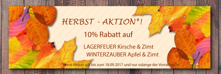 Metwabe-Shop: Herbst-Aktion