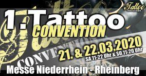 Tattooconvention Rheinberg 2020 @ Messe Niederrhein