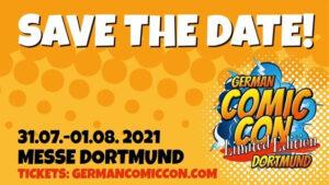 German Comic Con LTD EDITION @ Westfalenhallen Dortmund