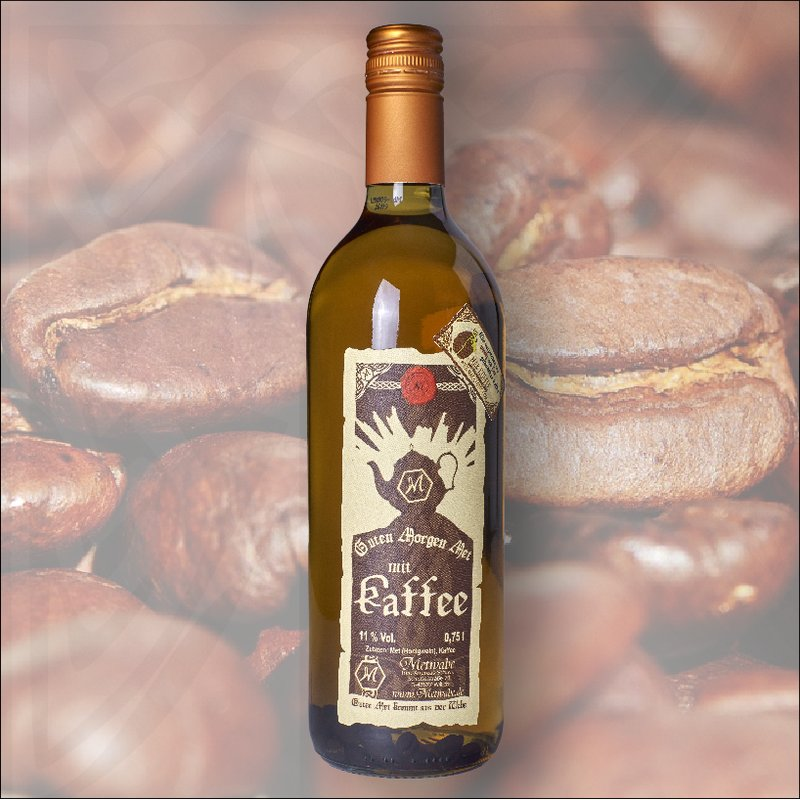 GUTEN-MORGEN-MET mit Kaffee